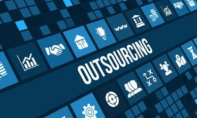 Napis Outsourcing